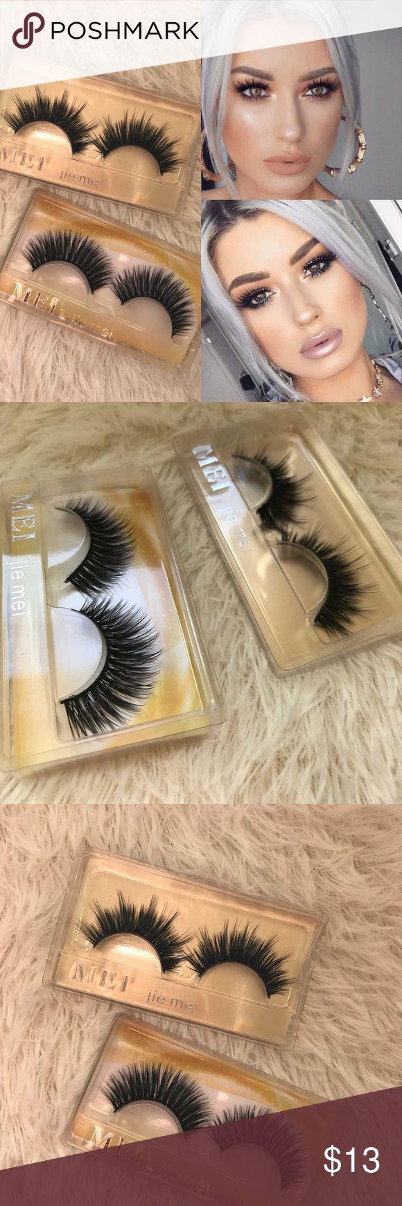 2 Pairs of eyelashes +$2 Add on eyelash Applicator  +$3 Add on eyelash glue Please message me if you want to add them.     # tags Iconic, mink, red cherry eyelashes, house of lashes, doll, kawaii, case, full, natural,  Koko, Ardell, wispies, Demi , makeup, mascara, eyelash applicator, wispy, iconic lashes Makeup False Eyelashes
