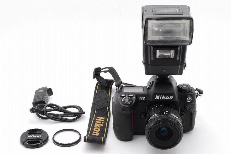 【EXC+++】Nikon F100 w/AF NIKKOR 35-80mm f/1.4-5.6D Lens From Japan #132 #Nikon