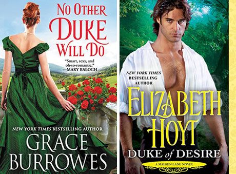 Historical romance authors Grace Burrowes and Elizabeth Hoyt talk to one another about dukes, series endings, and more