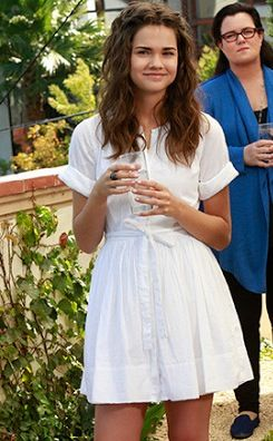 Maia Mitchell is my hair muse