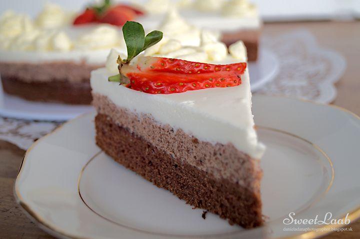 Čokoládovo oriešková torta / Chocolate hazelnut cake / Gâteau chocolat noisette, Recipe at http://danieladanaphotographer.blogspot.sk/2015/03/cokoladovo-orieskova-torta-chocolate.html