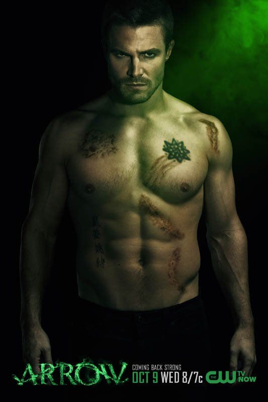 If this picture doesn't inspire you, I don't know what will... ;)  (Stephen Amell from the CW's ARROW)
