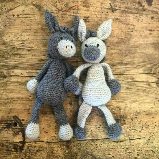 Toft alpaca crochet donkey  (Inspiration)  | Crochet animals