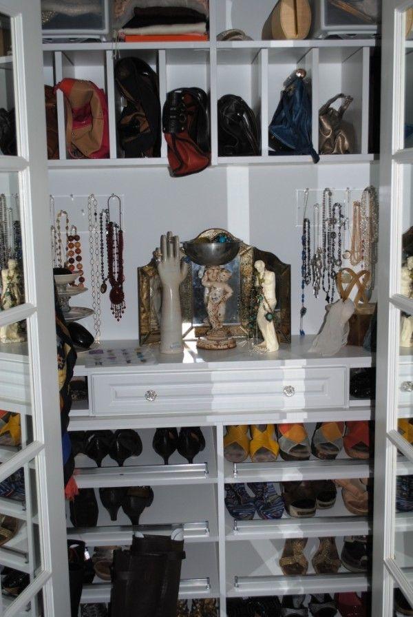 Store Purses Overhead In Vanity Closet
