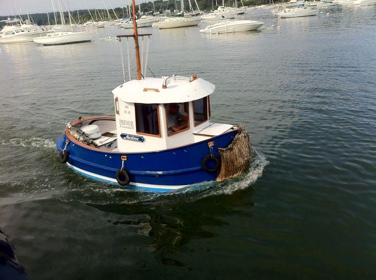 small tug boat, Northport L.I.-sven vik