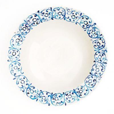 Hand painte Centerpiece Serving Platter  - Photo shop online http://www.thefinecrafts.com/