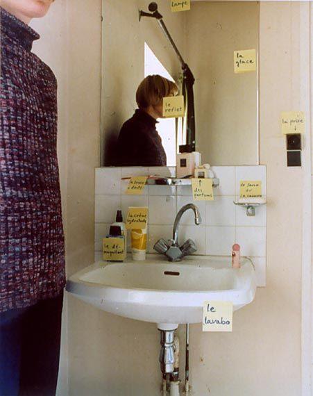 Elina Brotherus Le Reflet Kromogeeninen värivedos 1999