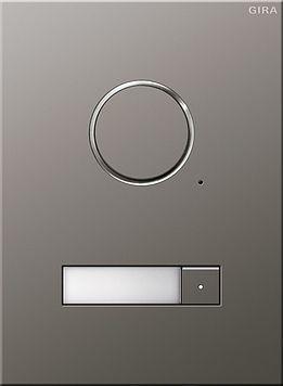 gira 250120 t rstation edelstahl audio t rklingel sonnerie door bell pinterest audio. Black Bedroom Furniture Sets. Home Design Ideas