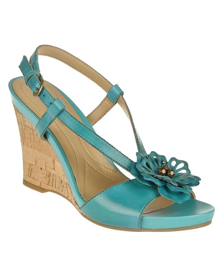 Aqua Shoes Naturalizer Bee Wedge At Dillards