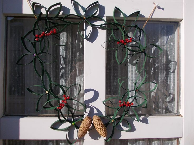 one more piece of last year's christmas decor ;)