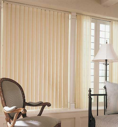 Levolor 174 Perceptions 174 Soft Vertical Shades Linen