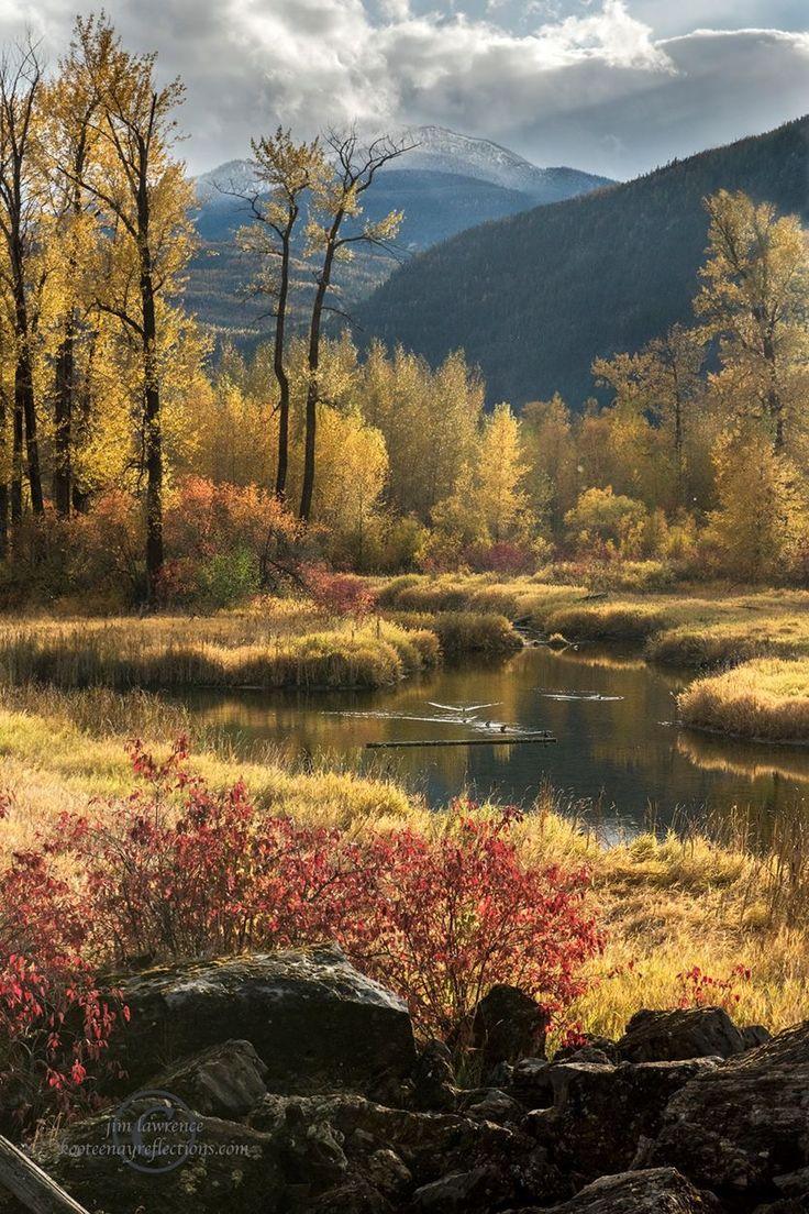 Fall in the Kootenays.....near Argenta BC
