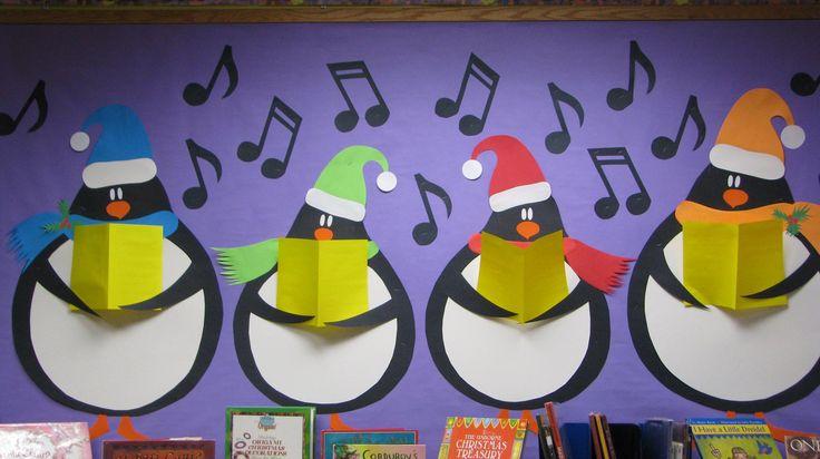 December - Caroling Penguins
