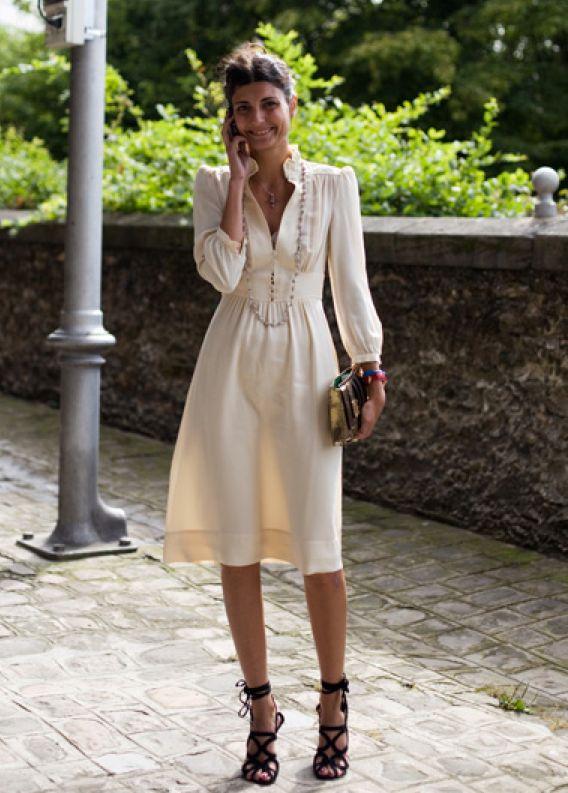 Classic elegance with alternative vibe. Giovanna Battaglia | Rue