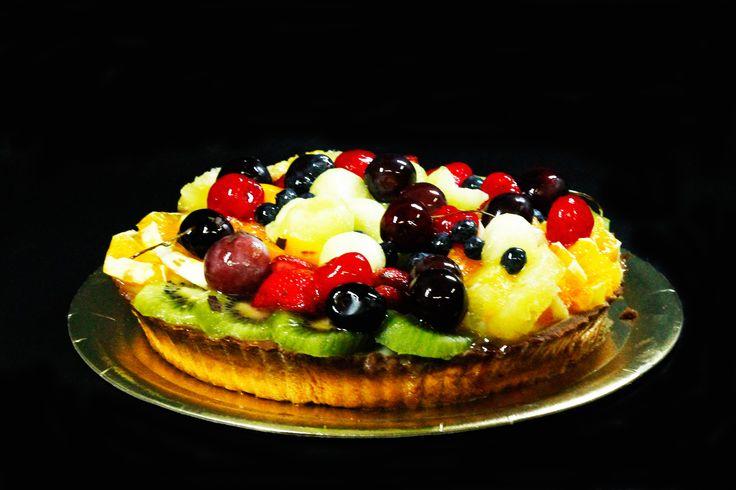 tarta frual con crema pastelera,   nuria balcarce, rosario