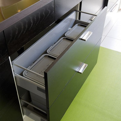 Recycle Compost Trash Drawer Google Search Kitchens I