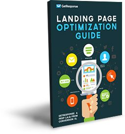 Landing Page Creator - squeeze page generator software by GetResponse