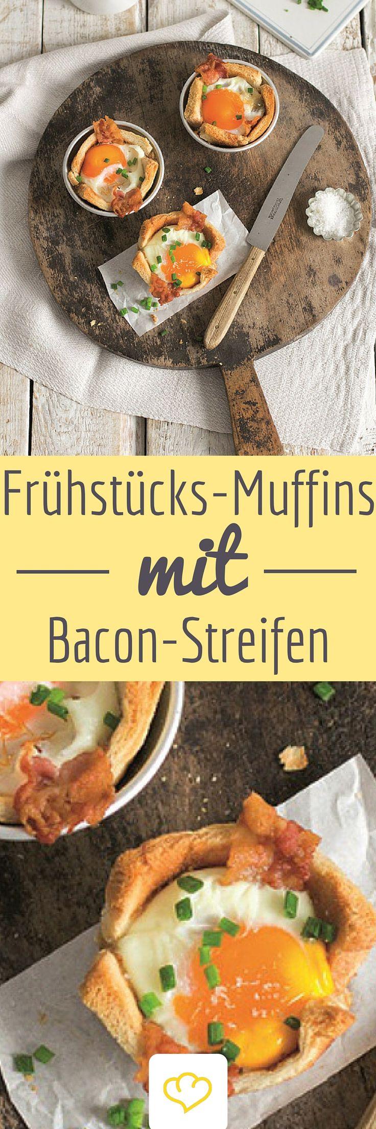 Muffins zum Frühstück? Warum nicht! Die Eier-Speck Muffins von Lykkelig sehen toll aus und schmecken köstlich!