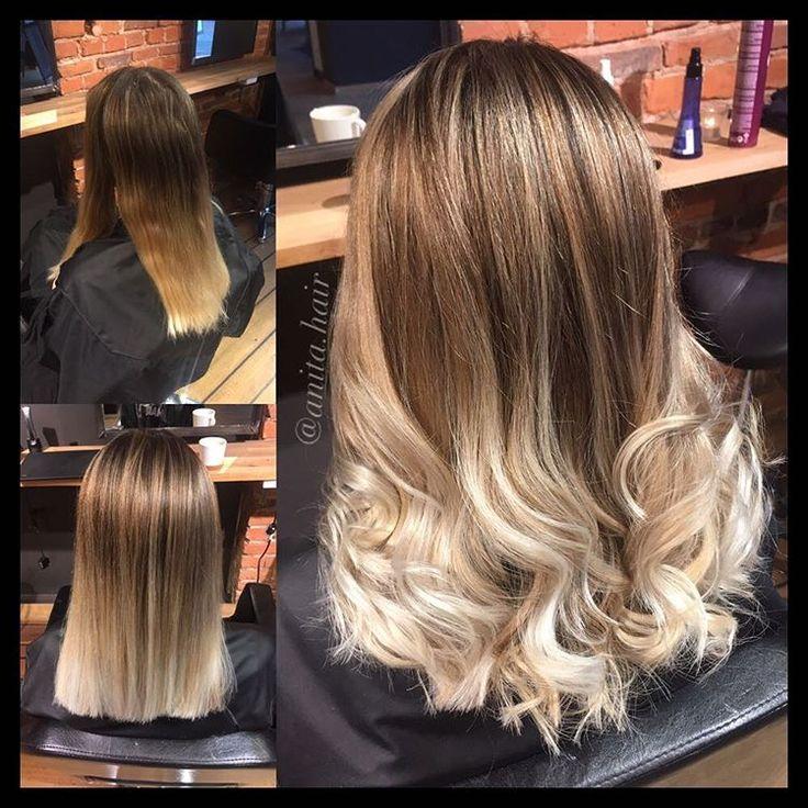Balayage! 😍 @hendrixhairdrammen @hendrixhair #hendrixhair #hendrixhairdrammen #drammen #hair #frisørdrammen #miriamquevedo #ghd #perfecthair #hairstyle #hairoftheday #instahair #hairofinstagram #blonde #curlyhair #hairstylist #color #haircut #matrixcolor #