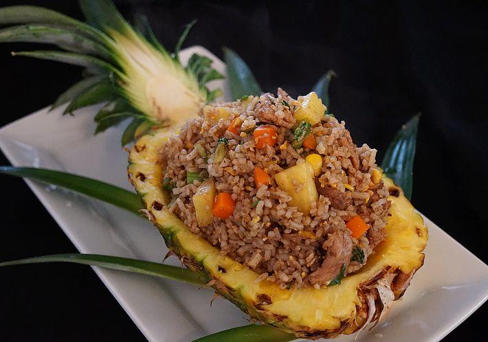 Chef Steve Thibodeau - Thai inspired cuisine | Pineapple Fried Rice