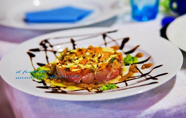 Tartara di tonno giallo zafferano - antipasto internazionali | Il fantastico mondo di Alessandra