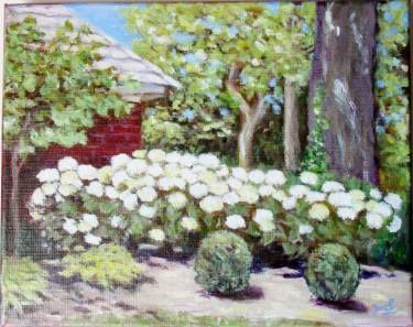 Lime Hydrangea Garden