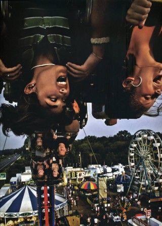 upside down selfie