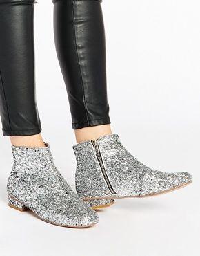 order shoes online jordans ASOS ATLANTIS 60  39 s Ankle Boots