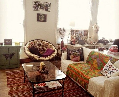 Boho Chic Living Room Ideas For The New House
