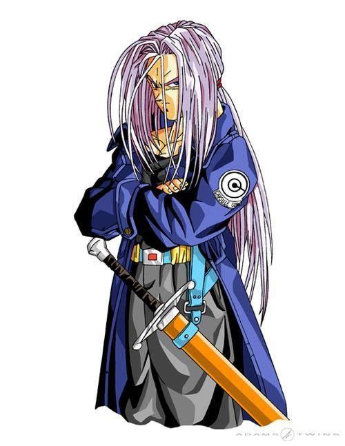 DBZ Future Trunks / damn long hair