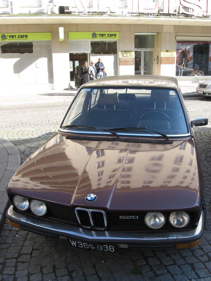 E12 BMW 520, Vienna, October 2008