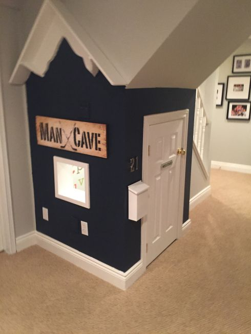 under the stairs playhouse / boy playhouse/ DIY