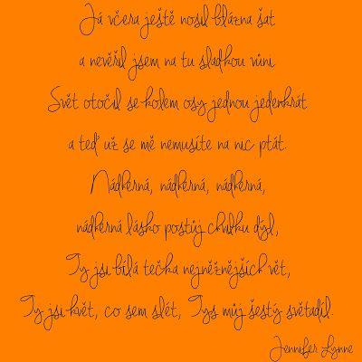 Můj papírový relax: Font, který čeština nezaskočí (20)