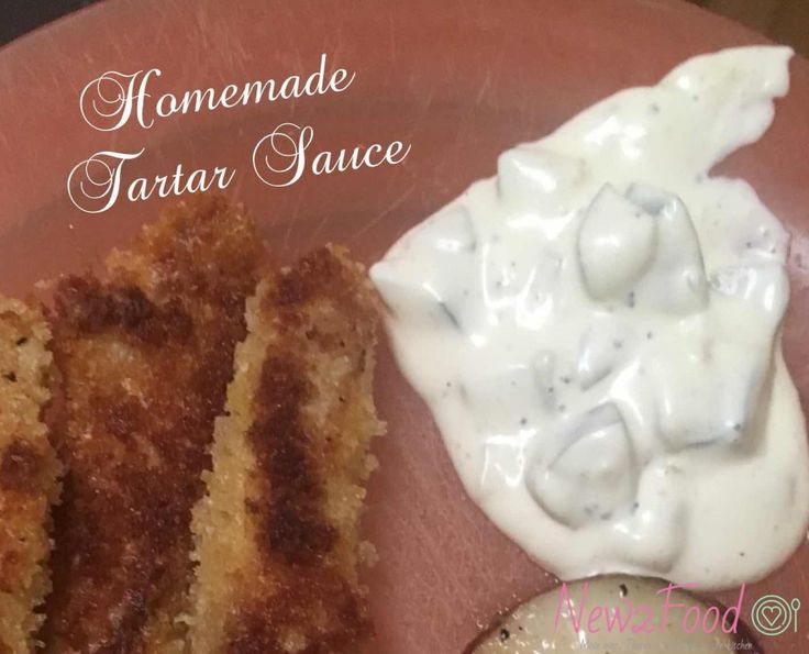 Make your own tartar sauce with some simple ingredients you already have at home!
