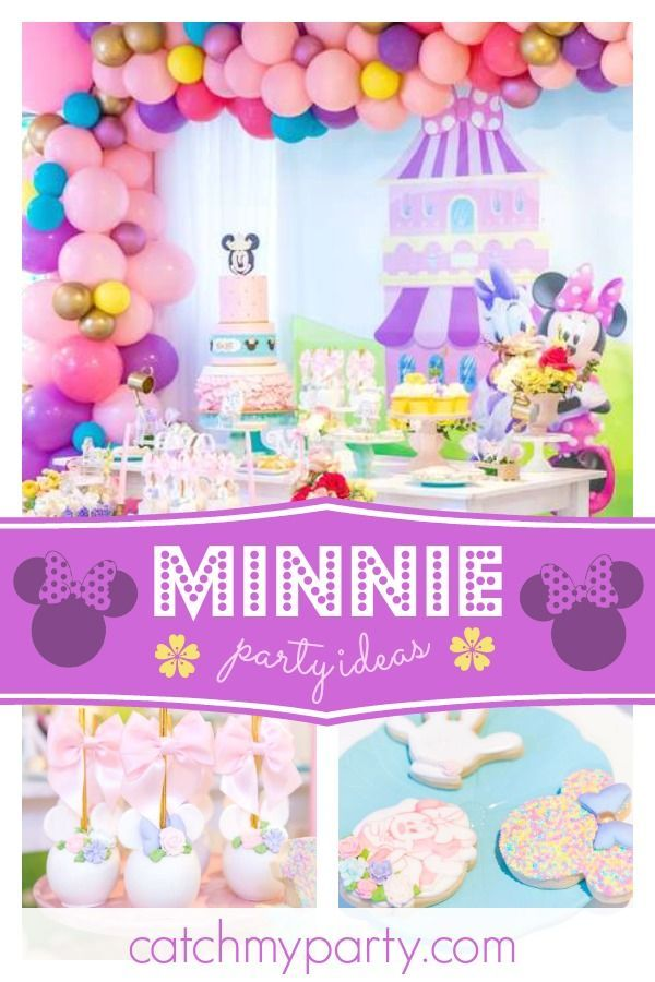 Minnie And Daisy Birthday Minnie And Daisy Birthday Party Themed