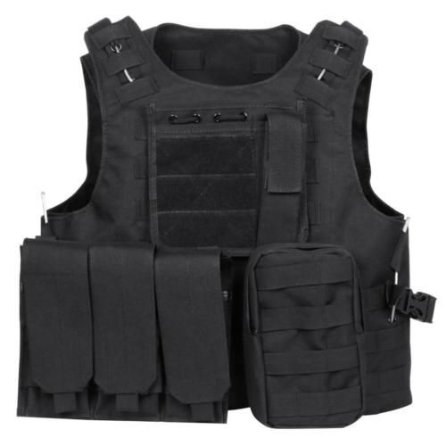 Adjustable #tactical vest #airsoft paintball combat assault vest #/military vest ,  View more on the LINK: http://www.zeppy.io/product/gb/2/262726909759/