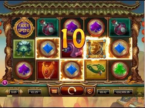 Golden Monkey Free video slots - https://www.slotsempire.co.uk/slot-machines/golden-monkey-video-slots #GoldenMonkey #videoslots #Freeplay