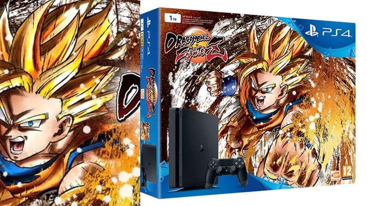 #PS4 1TB + #Dragon_Ball_Fighterz Cómprala ya en 123comprarvideojuegos.es. Tu Tienda Online de Confianza.