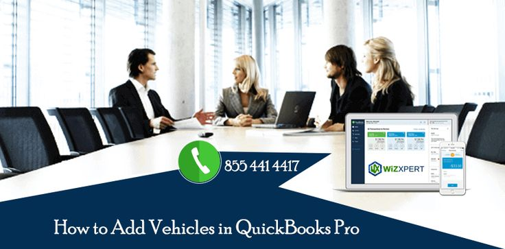 Learn how to add vehicles in Quickbooks Pro and get support by dialing our Quickbooks Pro Support Phone number @ + 1 855 441 4417 . Our expert team of professional resolve all your Quickbooks related issue. We have support and help to provide best solution to remove all your QB technical error. We have to provide guidance of how to add vehicals in quickbooks pro.If you get more info click this.  https://www.wizxpert.com/quickbooks-support-help-phone-number/