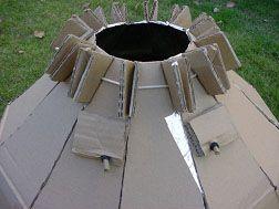Onpeutlefaire.com - Fiche technique - Cuiseur solaire en carton