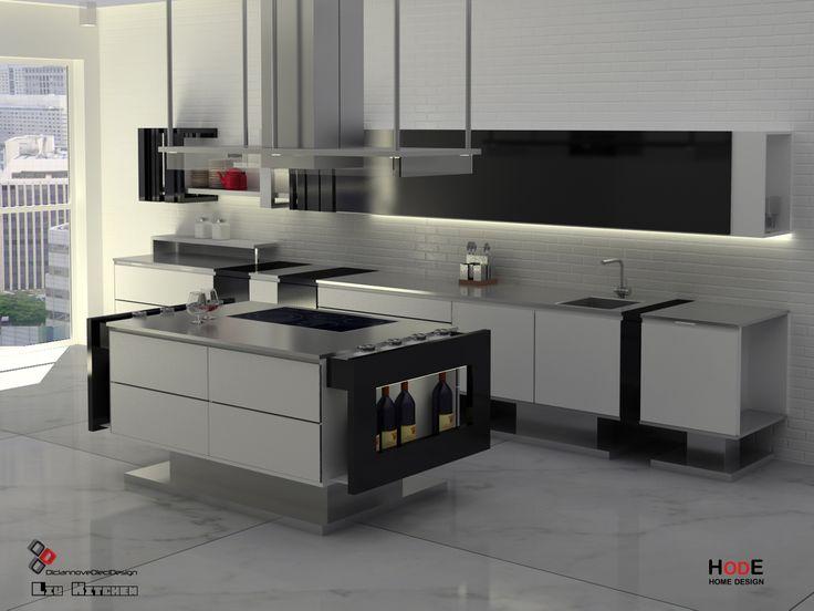 66 best Contemporary Kitchen Design images on Pinterest - küchen modern design