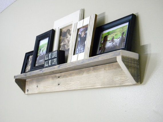 Wall Shelf, Shelves, Wood Wall Shelf, Christmas Gifts, Floating Shelf, Reclaimed Wood Shelf, Pallet Furniture, Distressed Wood, Book Shelf on Etsy, $45.00