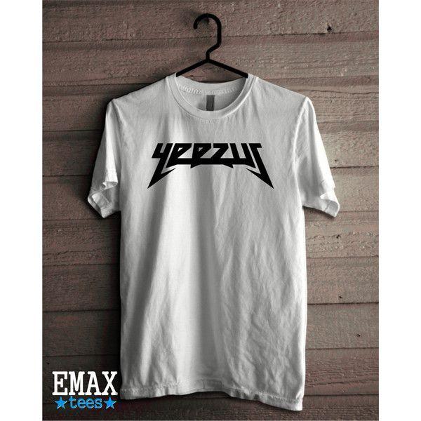 Yeezy Shirt 2016 Tour Yeezus Shirt, Kanye West Fan Tshirt Pablo Shirt... (29 BGN) via Polyvore featuring tops, woven cotton shirt, shirt top, unisex shirts, cotton shirts and unisex tops