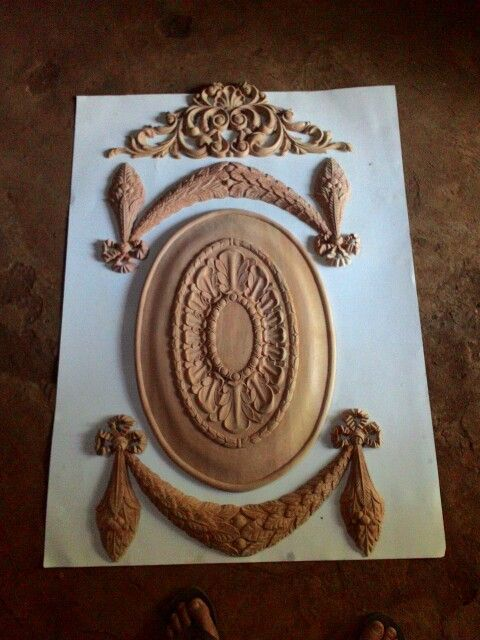 Ornament carving