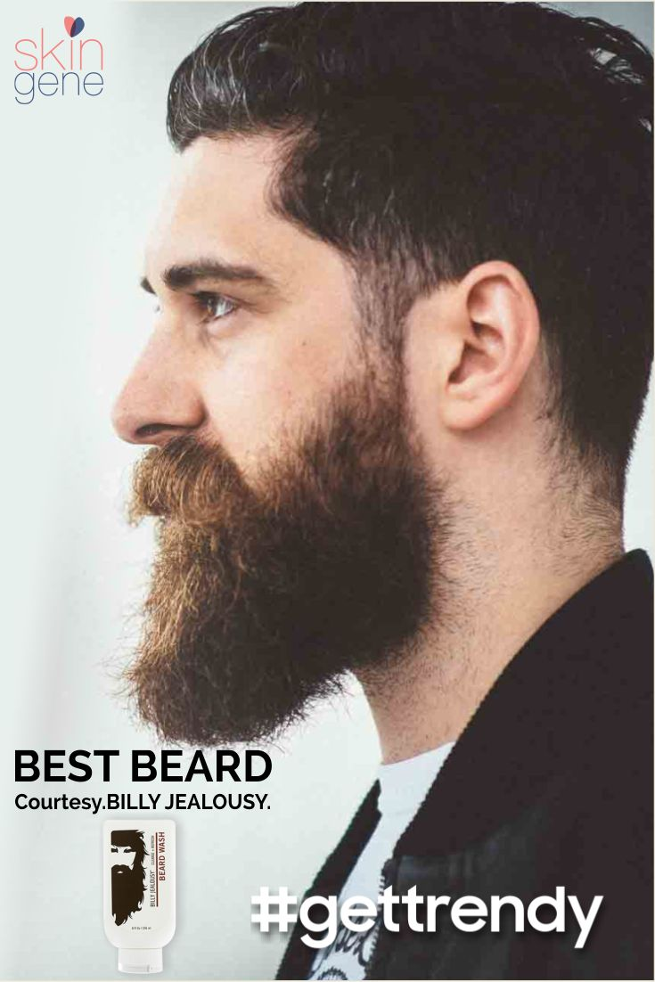 Following the latest trend of beard? #gettrendy and get your beard game on point with Billy Jealousy Beard wash. It contains Aloe Leaf Juice which softens & hydrates beard & skin.  Shop now on skingene.