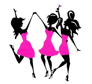 30 best evening out with the girls ideas images on pinterest rh pinterest ca Girls Night Out Silhouette Girls Night Out Silhouette