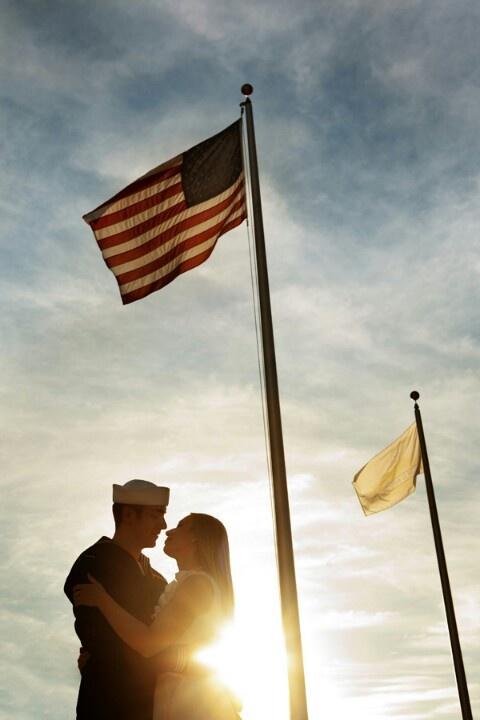 Brandy Burridge Photography. Navy engagement photos