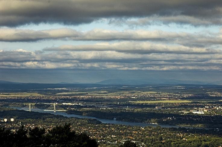 """Panorama da Monte """"Hármashatár"""""""