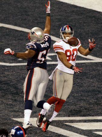 New York Giants and New England Patriots - Super Bowl XLVI - February 5, 2012