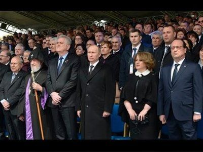 As Armenia observes 1915 killing, Berlin calls it genocide